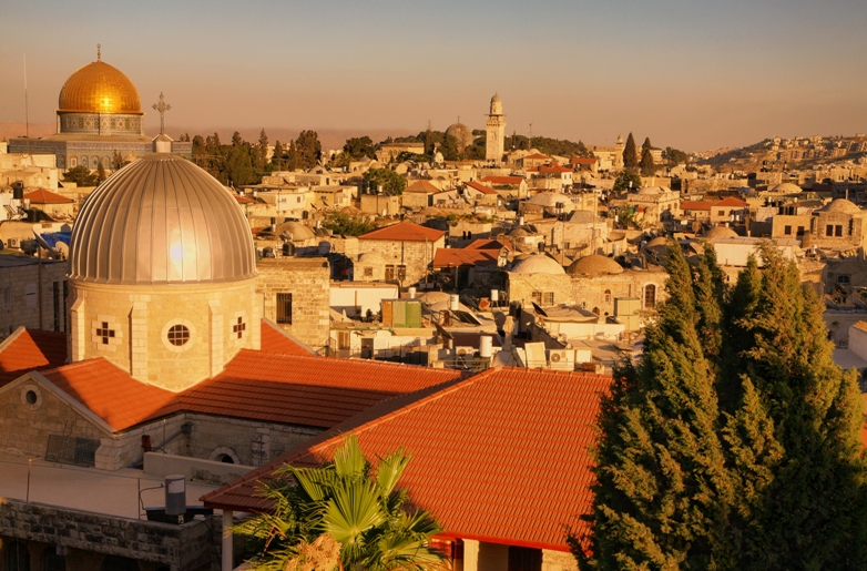 IMG 0213%20Old%20City%20at%20The%20Sunset - Израиль для каждого